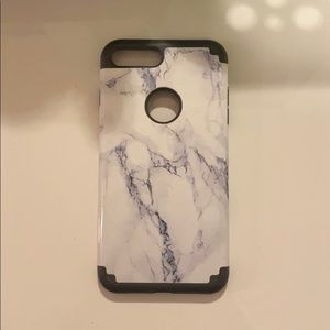 Bumper marble phone case